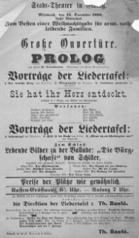 """Lebende Bilder zu der Ballade """"Die Bürgschaft"""" - Schefsky"""