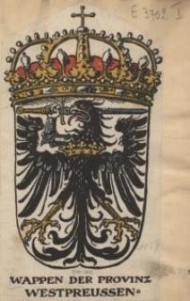 Wappen der Provinz Westpreussen