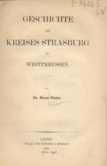 Geschichte des Kreises Strasburg
