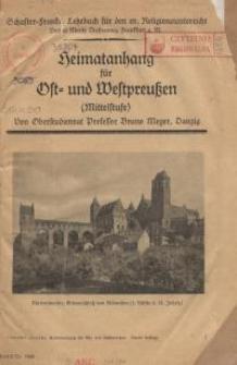 Heimatanhang für Ost- und Westpreussen