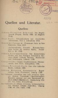 Verfassungs- und Rechtsgeschichte des Fürstbistums Ermland
