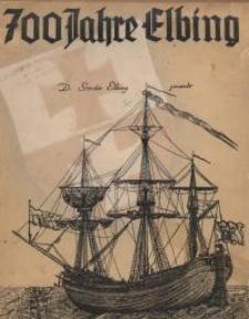700 Jahre Elbing 1237-1937 : Ein Jubiläums-Kalender auf das Jahr 1937