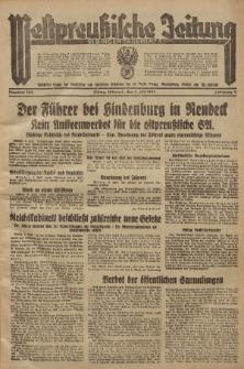 Westpreussische Zeitung, Nr. 153 Mittwoch 4 Juli 1934, 11. Jahrgang