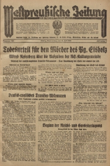 Westpreussische Zeitung, Nr. 154 Donnerstag 5 Juli 1934, 11. Jahrgang