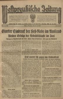 Westpreussische Zeitung, Nr. 158 Dienstag 10 Juli 1934, 11. Jahrgang