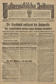 Westpreussische Zeitung, Nr. 159 Mittwoch 11 Juli 1934, 11. Jahrgang