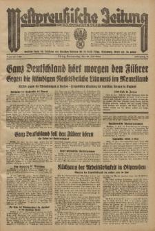 Westpreussische Zeitung, Nr. 160 Donnerstag 12 Juli 1934, 11. Jahrgang