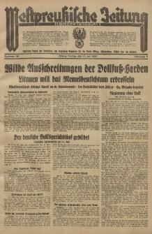 Westpreussische Zeitung, Nr. 161 Freitag 13 Juli 1934, 11. Jahrgang