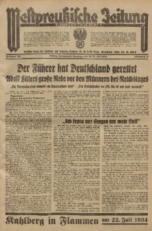 Westpreussische Zeitung, Nr. 162 Sonnabend/Sonntag 14/15 Juli 1934, 11. Jahrgang