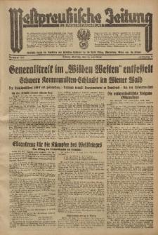 Westpreussische Zeitung, Nr. 163 Montag 16 Juli 1934, 11. Jahrgang