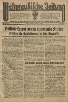 Westpreussische Zeitung, Nr. 165 Mittwoch 18 Juli 1934, 11. Jahrgang