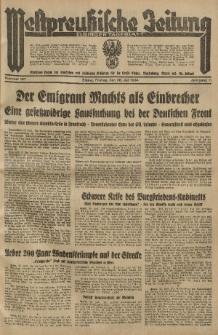 Westpreussische Zeitung, Nr. 167 Freitag 20 Juli 1934, 11. Jahrgang