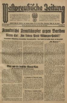 Westpreussische Zeitung, Nr. 168 Sonnabend/Sonntag 21/22 Juli 1934, 11. Jahrgang