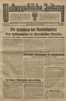 Westpreussische Zeitung, Nr. 171 Mittwoch 25 Juli 1934, 11. Jahrgang