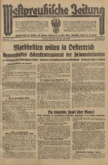 Westpreussische Zeitung, Nr. 175 Montag 30 Juli 1934, 11. Jahrgang
