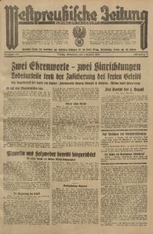 Westpreussische Zeitung, Nr. 177 Mittwoch 1 August 1934, 11. Jahrgang