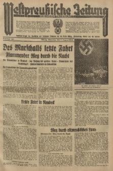 Westpreussische Zeitung, Nr. 182 Dienstag 7 August 1934, 11. Jahrgang