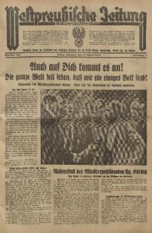 Westpreussische Zeitung, Nr. 189 Mittwoch 15 August 1934, 11. Jahrgang