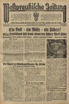 Westpreussische Zeitung, Nr. 191 Freitag 17 August 1934, 11. Jahrgang