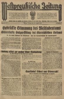 Westpreussische Zeitung, Nr. 197 Freitag 24 August 1934, 11. Jahrgang