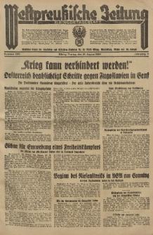 Westpreussische Zeitung, Nr. 203 Freitag 31 August 1934, 11. Jahrgang