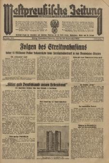 Westpreussische Zeitung, Nr. 222 Sonnabend/Sonntag 22/23 September 1934, 11. Jahrgang