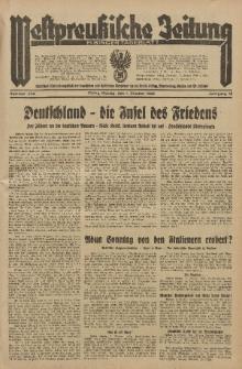 Westpreussische Zeitung, Nr. 234 Montag 7 Oktober 1935, 12. Jahrgang