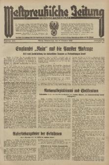 Westpreussische Zeitung, Nr. 243 Donnerstag 17 Oktober 1935, 12. Jahrgang