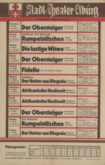 Stadt-Theater Elbing (7-15.I.1939)