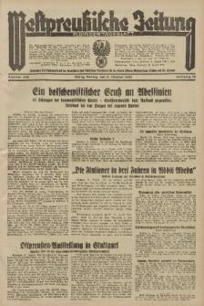 Westpreussische Zeitung, Nr. 246 Montag 21 Oktober 1935, 12. Jahrgang