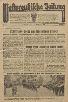 Westpreussische Zeitung, Nr. 249 Donnerstag 24 Oktober 1935, 12. Jahrgang