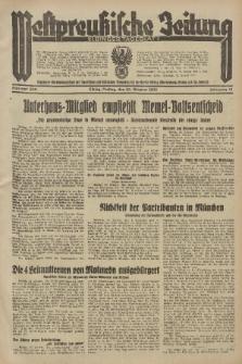 Westpreussische Zeitung, Nr. 250 Freitag 25 Oktober 1935, 12. Jahrgang
