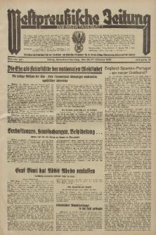 Westpreussische Zeitung, Nr. 251 Sonnabend/Sonntag 26/27 Oktober 1935, 12. Jahrgang