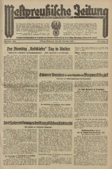 Westpreussische Zeitung, Nr. 254 Mittwoch 30 Oktober 1935, 12. Jahrgang