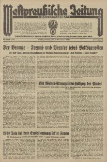 Westpreussische Zeitung, Nr. 256 Freitag 1 November 1935, 12. Jahrgang
