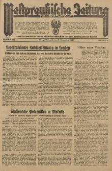 Westpreussische Zeitung, Nr. 260 Mittwoch 6 November 1935, 12. Jahrgang