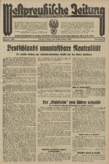 Westpreussische Zeitung, Nr. 262 Freitag 8 November 1935, 12. Jahrgang
