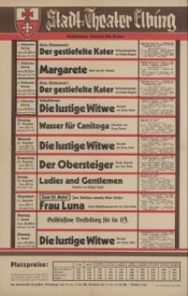 Stadt-Theater Elbing (25.XII.1938-1.I.1939)