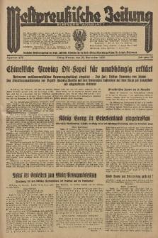 Westpreussische Zeitung, Nr. 275 Montag 25 November 1935, 12. Jahrgang
