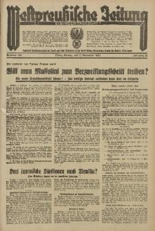 Westpreussische Zeitung, Nr. 281 Montag 2 December 1935, 12. Jahrgang