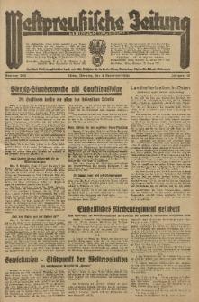 Westpreussische Zeitung, Nr. 282 Dienstag 3 December 1935, 12. Jahrgang