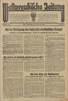 Westpreussische Zeitung, Nr. 284 Donnerstag 5 December 1935, 12. Jahrgang