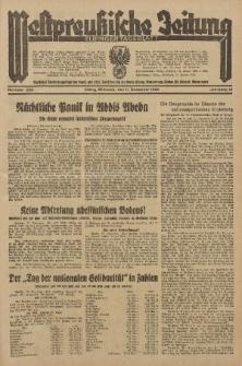 Westpreussische Zeitung, Nr. 289 Mittwoch 11 December 1935, 12. Jahrgang
