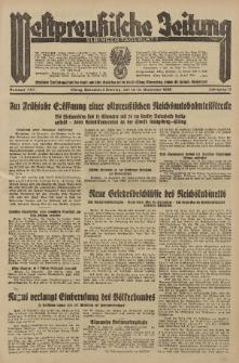 Westpreussische Zeitung, Nr. 292 Sonnabend/Sonntag 14/15 December 1935, 12. Jahrgang