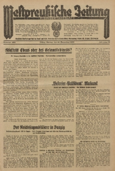 Westpreussische Zeitung, Nr. 293 Montag 16 December 1935, 12. Jahrgang