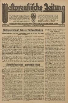 Westpreussische Zeitung, Nr. 299 Montag 23 December 1935, 12. Jahrgang