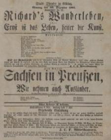 Sachsen in Preussen, oder: Wir nehmen auch Ausländer - Emil Pohl