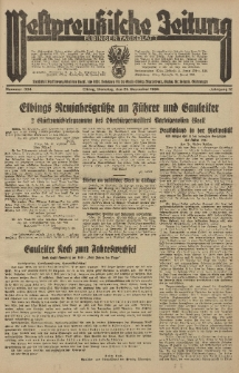 Westpreussische Zeitung, Nr. 304 Dienstag 31 December 1935, 12. Jahrgang