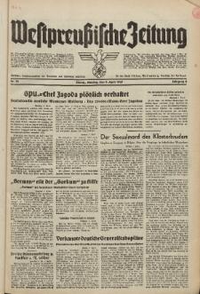 Westpreussische Zeitung, Nr. 78 Montag 5 April 1937, 6. Jahrgang