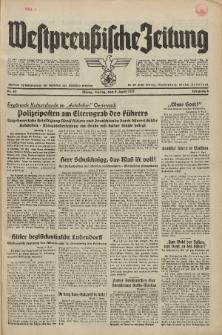 Westpreussische Zeitung, Nr. 82 Freitag 9 April 1937, 6. Jahrgang